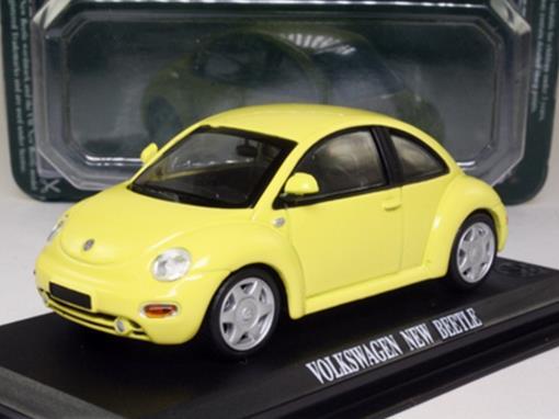 Volkswagen: New Beetle - Amarelo - 1:43 - Del Prado