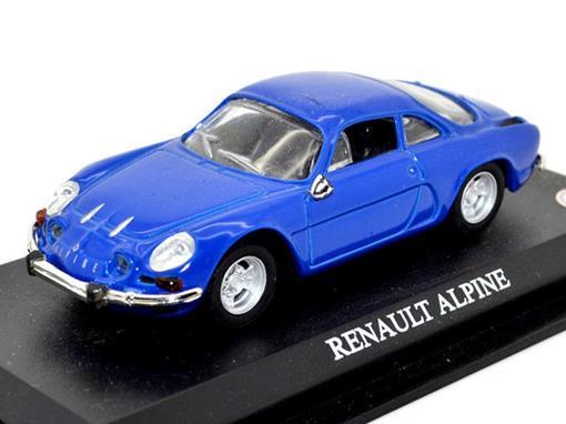 Renault: Alpine - Azul - 1:43 - Del Prado
