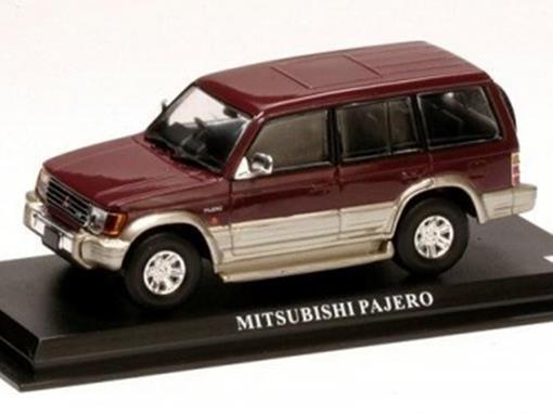 Mitsubishi: Pajero - Borgonha - 1:43 - Del Prado
