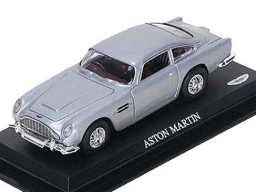 Aston Martin - Prata - 1:43 - Del Prado