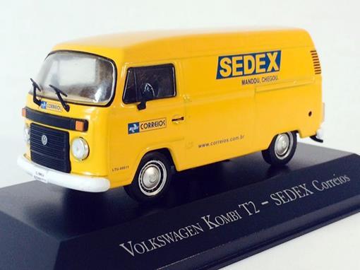Volkswagen: Kombi T2 - Correios - 1:43 - Ixo