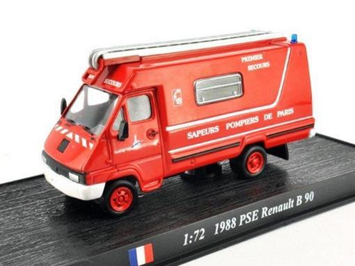 Renault: PSE B 90 (1988) - 1:64 - Bombeiros - Del Prado
