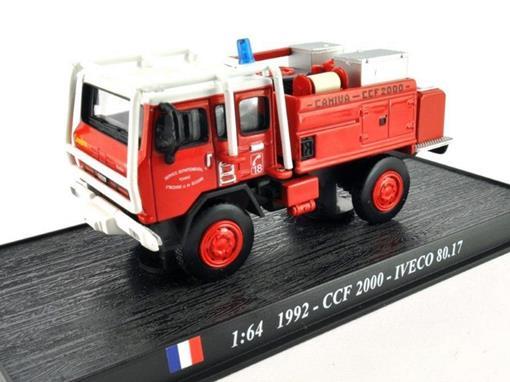 Iveco: 80.17 - CCF 2000 (1992) - 1:64 - Bombeiros - Del Prado