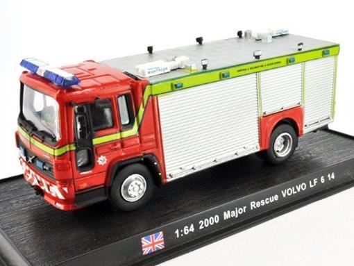 Volvo: LF 6 14 - Major Rescue (2000) - 1:64 - Bombeiros - Del Prado