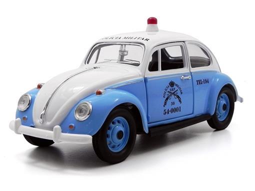 Volkswagen: Fusca Polícia Militar do Rio de Janeiro (1967) - 1:24 - California Toys