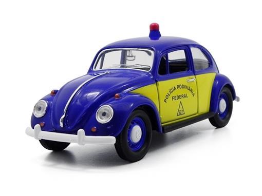 Volkswagen: Fusca Polícia Rodoviária Federal (1967) - 1:24 - California Toys