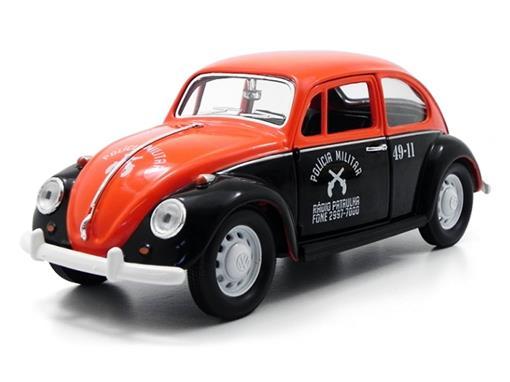 Volkswagen: Fusca Polícia Militar de São Paulo (1967) - 1:24 - California Toys