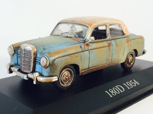 Mercedes Benz: 180D (1954) -