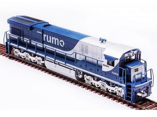 Locomotiva Elétrica C30-7 RUMO (9220) - HO - Frateschi