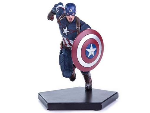 Estátua Capitão America - Avengers Age Of Ultron - Art Scale - 1:10 - Iron Studios