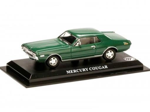 Ford: Mercury Cougar - Verde - 1:43 - Altaya