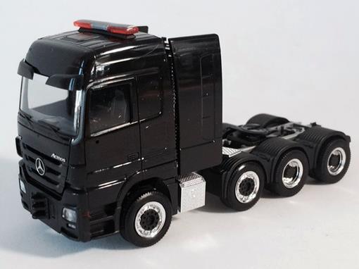 Mercedes-Benz: Actros LH V8 (2008) - Preto - 1:87 - HO
