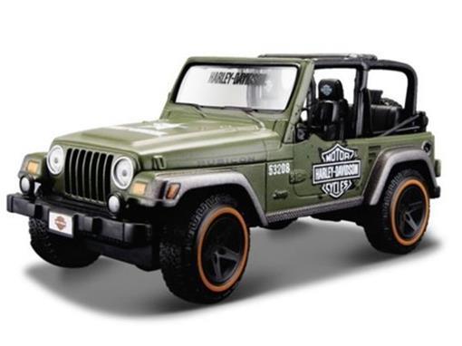 Jeep: Wrangler Rubicon - 1:24 - Maisto