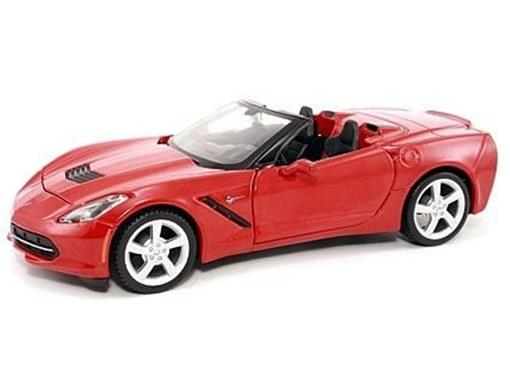 Chevrolet: Corvette Stingray (2014) - Vermelho - 1:24 - Maisto