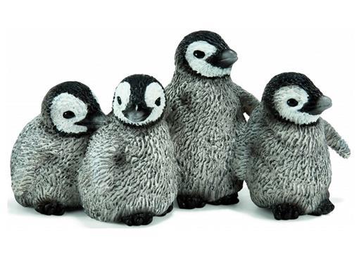 Filhotes de Pinguim Imperador - Schleich