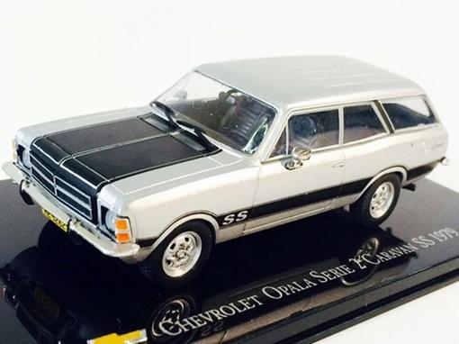 Chevrolet: Opala Serie 2 Caravan SS (1979) - Prata - 1:43 - Ixo
