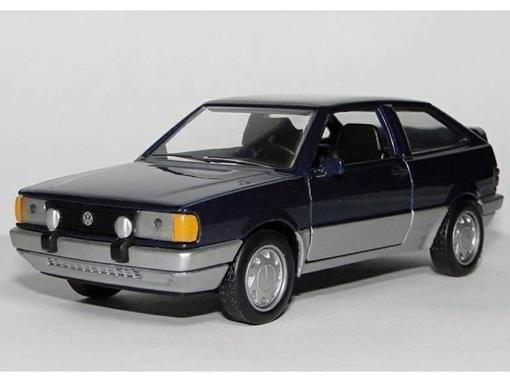 Volkswagen: Gol Gti (1988) - Azul - 11 cm