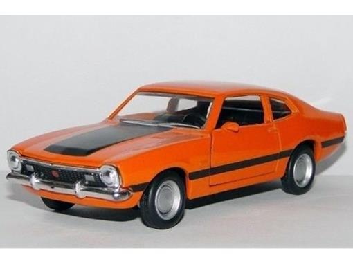 Ford: Maverick Gt (1974) - Laranja - 11 cm