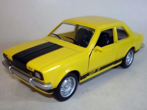Chevrolet: Chevette GP II (1976/ 1979) - Amarelo - 11 cm