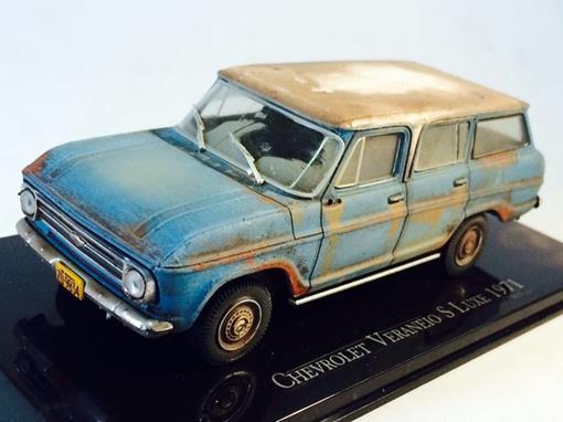 Chevrolet: Veraneio S Luxe (1971) -