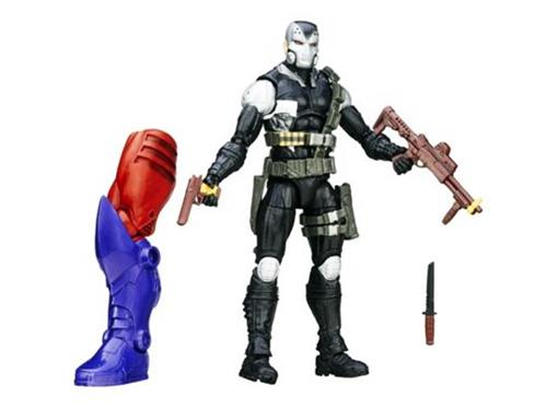 Boneco Scourge Author - Capitão América - Marvel Legends Series - Hasbro