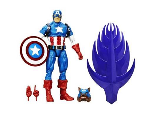 Boneco Capitão América - Marvel Legends Series - Hasbro