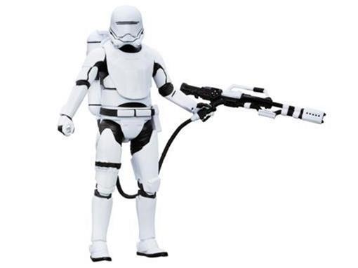 Boneco First Order Flametrooper - #16 - Star Wars - The Black Series - Hasbro
