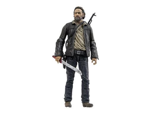 Boneco Rick Grimes - The Walking Dead - Série 8 - McFarlane Toys
