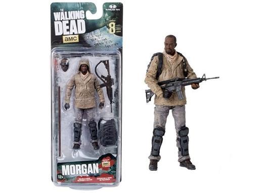 Boneco Morgan - The Walking Dead - Série 8 - McFarlane Toys
