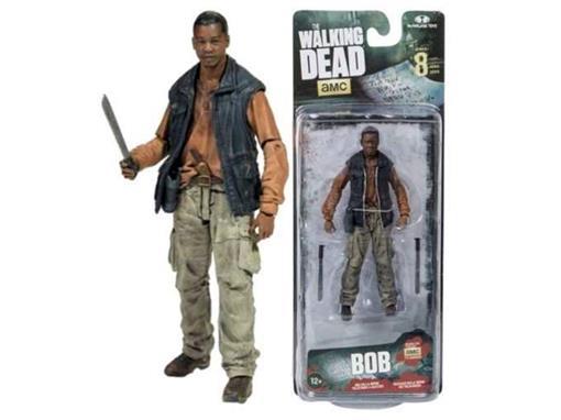 Boneco Bob - The Walking Dead - Série 8 - McFarlane Toys
