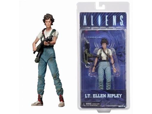 Boneco LT. Ellen Ripley - Series 5 - Aliens - Neca