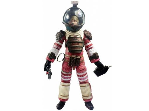 Boneco Dallas (Compression Suit) - Series 4 - Aliens - Neca