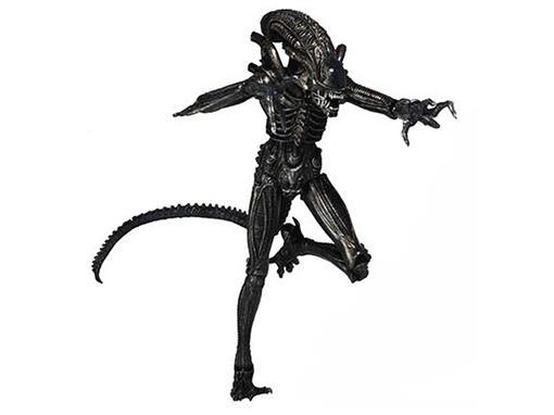 Boneco Xenomorph Warrior - Series 5 - Aliens Genocide - Preto - Neca