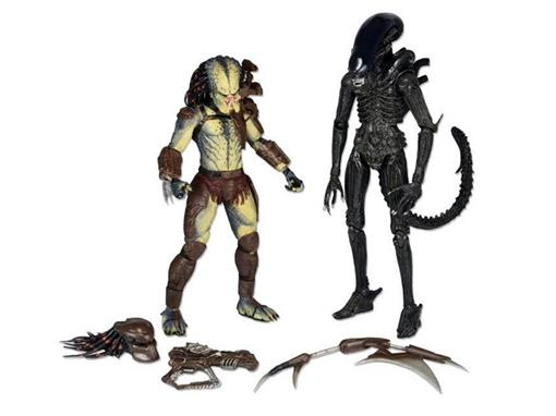 Bonecos Aliens vs Predator - The Ultimate Battle (2 Pack) - Neca