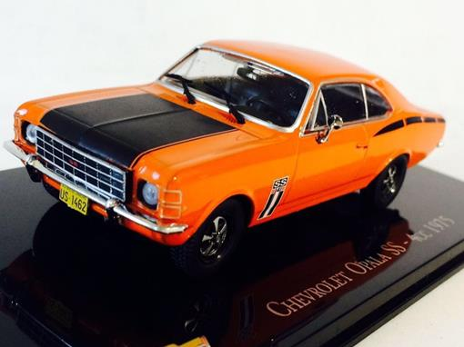 Chevrolet: Opala SS - 4cc (1975) - Laranja -  1:43 - Ixo