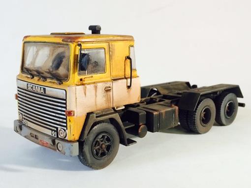 Scania: LKS 140 - Cavalo -