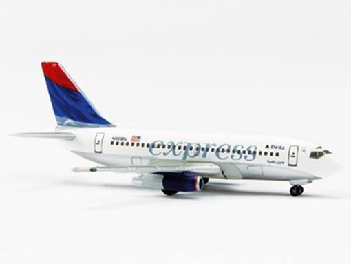 Delta Express: Boeing 737-200 - 1:500 - Herpa