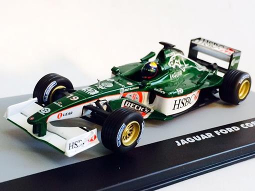 Jaguar: Ford Cosworth R2 - Luciano Burti - Brazil GP 2001 - 1:43 - Ixo