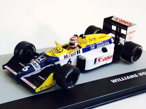 Williams Honda: FW11B - Nelson Piquet - Italy GP 1987- 1:43 - Ixo
