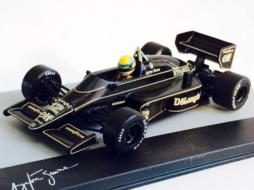 Lotus: 98T - Ayrton Senna - Brazil GP 1986 - 1:43 - Ixo