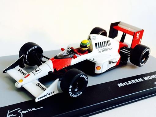 McLaren Honda: MP4/5 - Ayrton Senna - Germany GP 1989 - 1:43 - Ixo