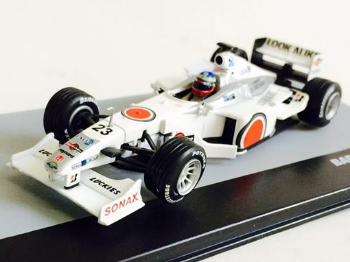 Bar Honda: 002 - Ricardo Zonta - Italy GP 2000 - 1:43 - Ixo