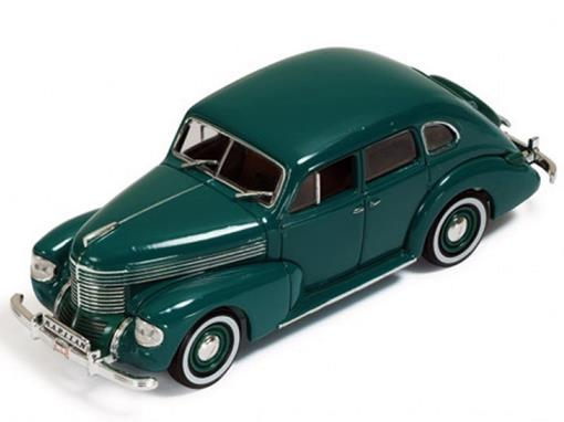 Opel: Kapitan 4-Door Sedan (1939) - Verde - 1:43 - Ixo Models