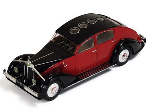 Voisin: C25 Aerodyne (1934) - Vermelho e Preto - 1:43 - Ixo Models