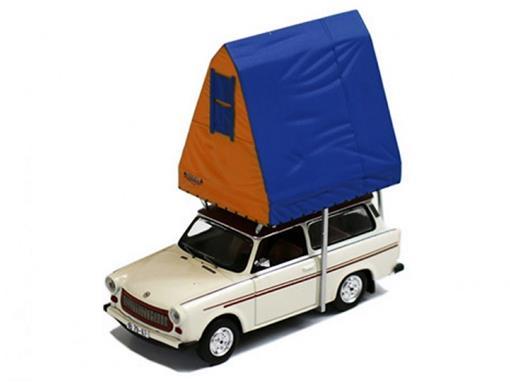 Trabant: 601S Universal - Acampamento (1980) - 1:43 - Ist Models