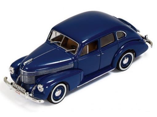 Opel Kapitan Sedan (1950) - Azul - 1:43 - Ixo Models
