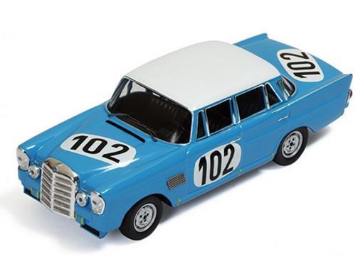 Mercedes Benz: 300SE #102 - Winner 24h SPA (1964) - 1:43 - Ixo Models