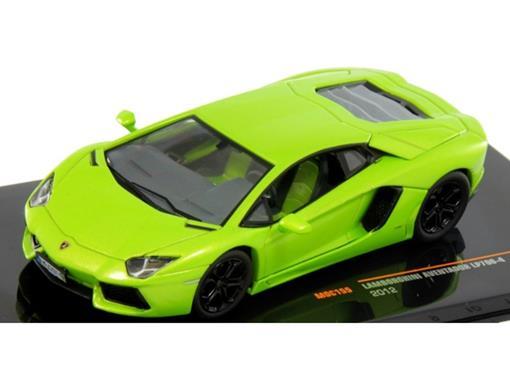 Lamborghini: Aventador LP700-4 (2012) - Verde - 1:43 - Ixo Models