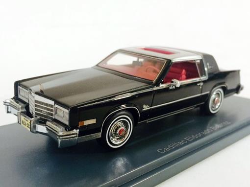 Cadillac: Eldorado Biarritz - Preto e Prata - 1:43 - Neo Scale Models