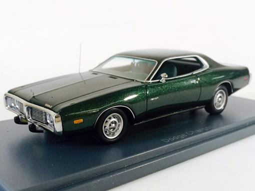 Dodge: Charger (1973) - Verde - 1:43 - Neo Scale Models
